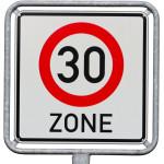 Zu schnell gefahren in der Tempo-30-Zone
