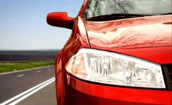 Das Abblendlicht gehört zur vorderen Autobeleuchtung.