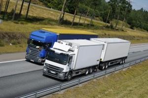Durch den Lkw-Abstand können Unfälle vermieden werden.