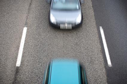 Abstandskontrolle Autobahn