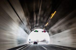 Blitzer mit Laser werden auch im Tunnel genutzt.