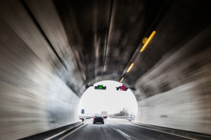 Radargeräte ohne Blitz werden vor allem im Tunnel genutzt.