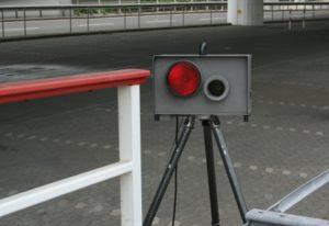 Der CG-P50E dient der Verkehrsüberwachung.