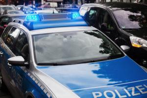 Der mobile Laser ohne Blitzer TraffiPatrol wird von der Polizei zur Tempokontrolle genutzt.