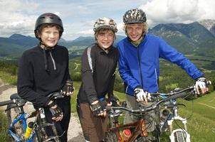 Eine Helmpflicht auf dem Fahrrad gilt in Deutschland nicht.