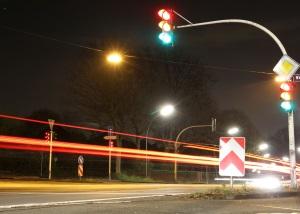 Folgen der Missachtung von Verkehrsregeln: Ein Unfall ist beim Autorennen nicht selten.