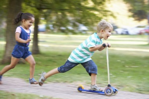 Geschwindigkeit: Ein verkehrsberuhigter Bereich darf nicht zu schnell befahren werden.