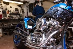 Auf dem Motorrad ist die Promillegrenze genauso gültig wie im Auto.