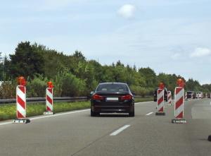 In einer Baustelle geblitzt zu werden, kann auch eine Punkt in Flensburg zur Folge haben.