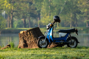 Eine Versicherung muss für ein Kleinkraftrad immer vorhanden sein.